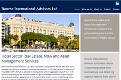 Bourne International Advisors website