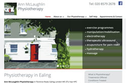 Ealing Physiotherapy website