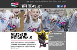 Musical Mania website