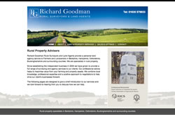 Richard Goodman Land Agents website