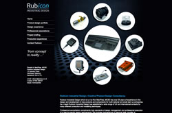 Rubicon Industrial Design website